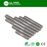 Boulon de goujon de tête de double d'acier inoxydable de M4 M12 M27 (DIN939)
