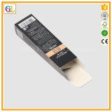 Rectángulo de papel de empaquetado del cosmético de lujo