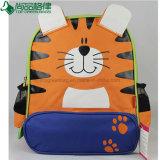 L'animal mignon de tigre de dessin animé animal bon marché badine le sac à dos d'école