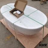 Прочная твердая поверхностная Freestanding ванна для 1 персоны