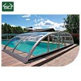 Tampa de alumínio da piscina do Pergola para a proteção