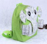 Saco de Escola Padrão Animal Projeto Elefante Crianças Saco de desenhos animados para crianças