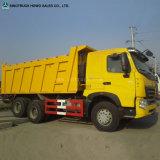 Camion della sabbia della ghiaia di capienza dell'autocarro con cassone ribaltabile della Cina 25ton da vendere