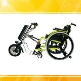 Kit 350W Handcycle elettrico di conversione della sedia a rotelle elettrica della lega di alluminio
