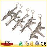 현대 AK-47 금속 스나이퍼 소총 군 모형 전자총 열쇠 고리