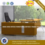 マホガニーカラー標準的なデザインMDFのメラミン管理の机/Table (HX-8N1369)