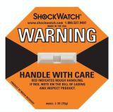 Etiqueta engomada adhesiva amonestadora de la seguridad para la máquina de la precisión