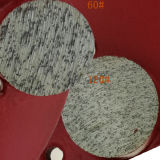 Stootkussen van de Diamant van de Band van het Metaal van Lavina van twee Knopen het Concrete Malende