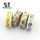 8月2017日デザイン多彩な蝶日本のWashiのペーパー保護テープの卸売
