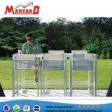 Comercio al por mayor baratos Patio moderna de ocio al aire libre juego de muebles de comedor