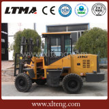 Preço do Forklift do terreno 1.5t áspero do Forklift de Ltma mini