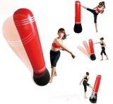 Vaso vertical inflable del diseño de las bolsas de arena del boxeo del PVC