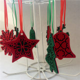 Felt Christmas Flower Ceiling Felt Balls Hanging Christmas Felt Ornaments