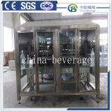 Prix usine 5 machine recouvrante remplissante de lavage de l'eau minérale de la machine de remplissage de la bouteille 200bhp de gallon 3 In1