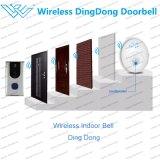 Tipo sem fio esperto sistema do Doorbell de WiFi da entrada do intercomunicador com Dingdong