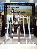 Оцинкованный прокат велосипедов Semi-Vertical система для установки в стойку