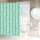 Tenda di acquazzone impermeabile su ordinazione della stanza da bagno del tessuto di nuovo disegno con Muffa-Resistente