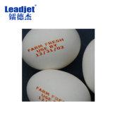 Impresora de alta velocidad del número de tratamiento por lotes de Leajet V280 en la impresora de inyección de tinta de los huevos