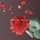 100%Polyester перекрестный Disperse стежком 3D напечатал ткань для комплекта постельных принадлежностей
