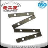 Piezas insertas estándar del cuchillo de Reversilbe del carburo