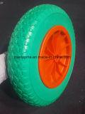 China Qingdao 350-4 de la rueda de carro de la mano de espumas de poliuretano
