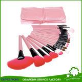 Colorido imprimir de forma de cepillo de dientes eléctrico cosméticos Maquillaje Pincel para Homeused