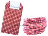 Warmere Buis Headscarf van de Hals van Microfiber van de Opbrengst van de Fabriek OEM/ODM van China de Grijze