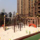 Ovni Net escalada Parque infantil con juegos de diapositivas (cn-10001)