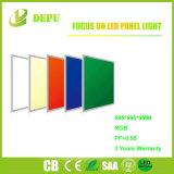Luz del panel redonda de calidad superior de SMD2835 RGB LED PF>0.95 Ra80