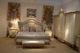 Белое классическое собрание комнаты кровати шикарного типа E67