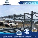 La conception de la structure en acier préfabriqués entrepôt dans les Philippines