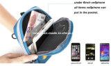 iPhone7、iPhone6、iPhone8のためのイヤホーンの穴が付いているスポーツアーム袋