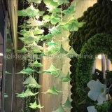 Fiore artificiale della stringa del giglio di bellezza di molla della decorazione di cristallo della finestra per il parco di divertimenti