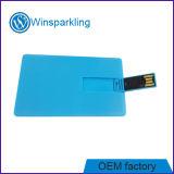 Memoria di disco istantaneo del USB della carta di credito di stampa di Digitahi