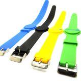 Пассивный силиконового герметика 13.56Мгц ISO14443A считывателем MIFARE Ultralight водонепроницаемой силиконовой RFID браслет