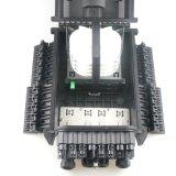 FTTHドロップ・ケーブルのための黒いFosc 24のコア光ファイバ共同閉鎖