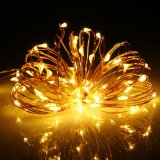 2017熱い販売DC LED星明かりのストリングはHalloweenのための銅線ライトをつける