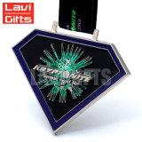 Medalla de encargo personalizada de la concesión del deporte del metal con el sostenedor del soporte