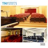 Teto Soundproof decorativo interior amigável da fibra de poliéster de Eco para o auditório