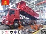 エチオピアのトラックHOWO 371HP 8X4 40-50tonのダンプトラック