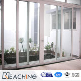 독일 주문을 받아서 만들어진 기계설비 UPVC/PVC 테라스 문 미끄러지는 Windows 및 문