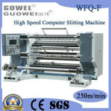 Рассечение компьютера на высокой скорости и подвижного состава для BOPP машины (WFQ-F)