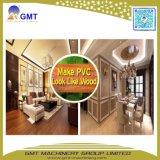 WPC compuesto de madera laminada en plástico PVC Wall-Panel máquina extrusora de perfil