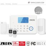 Allarme senza fili domestico dello PSTN GSM di Secuity con controllo di APP