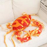 Mar simulado brinquedo recheadas de caranguejo