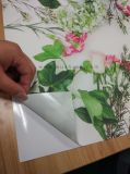 接着剤カスタムアートワークの印刷を用いる背部ファブリック壁ペーパー