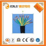 Fodero del PVC del rivestimento/fuoco esterni dell'isolamento che riscalda il multi cavo molle resistente di memoria Rvv/Rvvb
