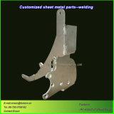 Het Stempelen van het Aluminium van de Delen van het Lassen van de precisie Delen door CNC Machinaal te bewerken