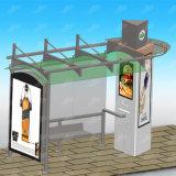Im FreienbekanntmachenEdelstahl-Bushaltestelle-Schutz-Busbahnhof