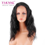 Yvonne 100% 브라질 사람의 모발 바디 파 레이스 정면 가발